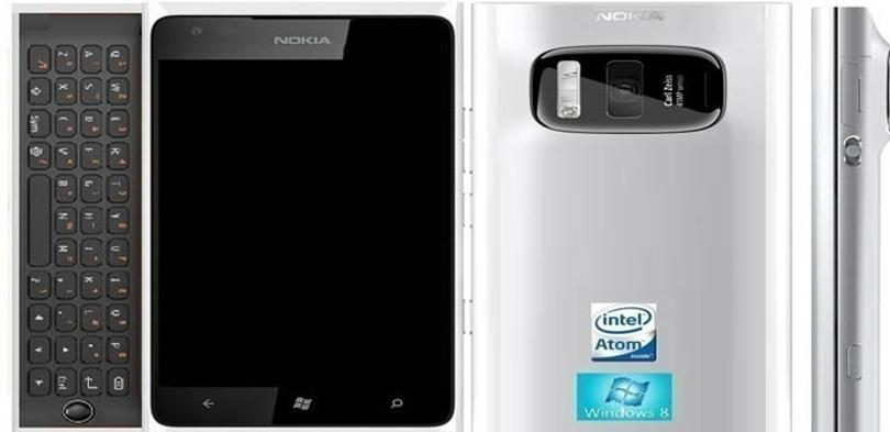 Nokia Lumia 41 MP Concept Phone