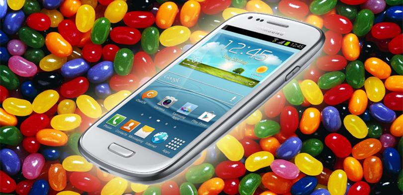 Samsung Galaxy S3 Mini y Jelly Bean
