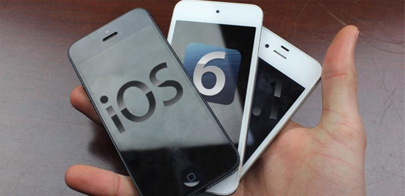iOS 6.1 en iPhone