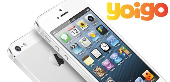Ventas del iPhone 5 con Yoigo