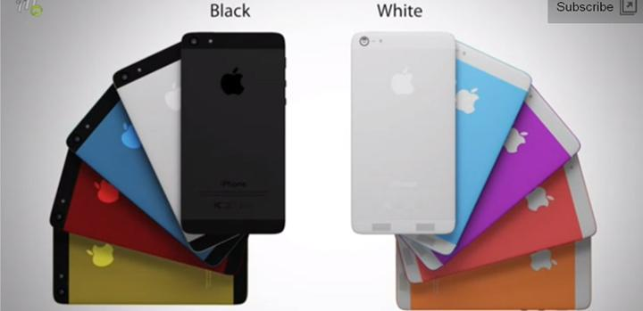 iPhone 6 con carcasas de colores