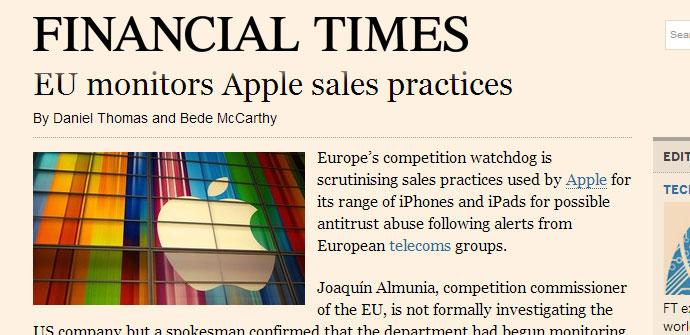 Financial Times web