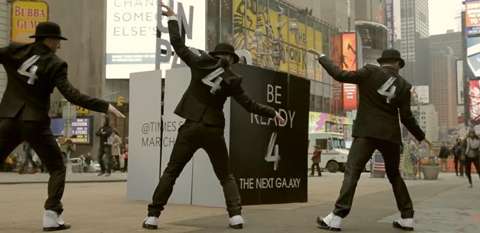Samsung Galaxy S4 Flash Mob