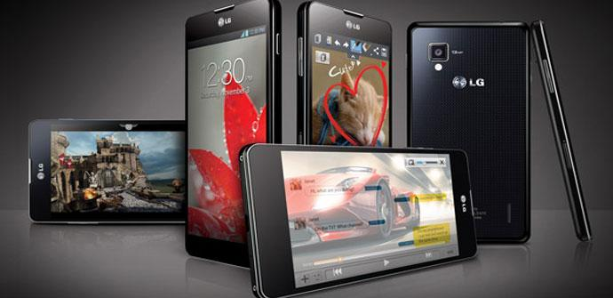 POsible diseño del LG Optimus G2