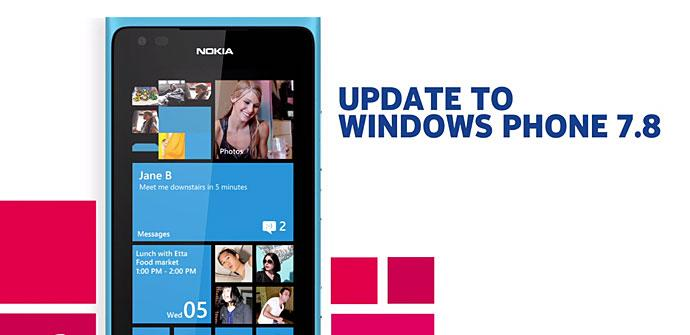 Nokia Lumia Windows 7.8