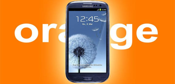 Samsung Galaxy S3 con Orange