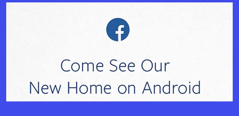Facebook Home se presenta el 4 de abril