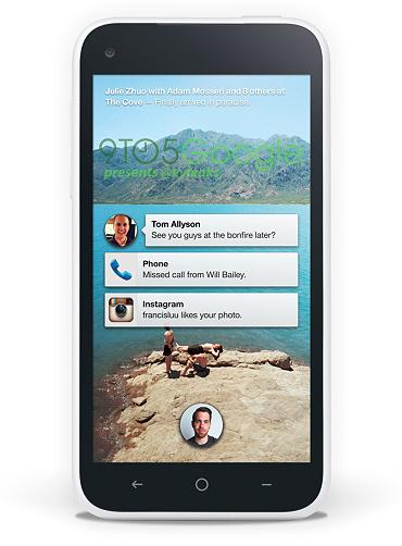 HTC First con Facebook Home UI