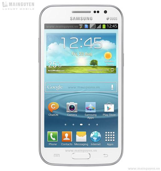Frontal del Samsung Galaxy Win