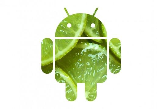 Logo Android 5.0 Kiy Lime Pie