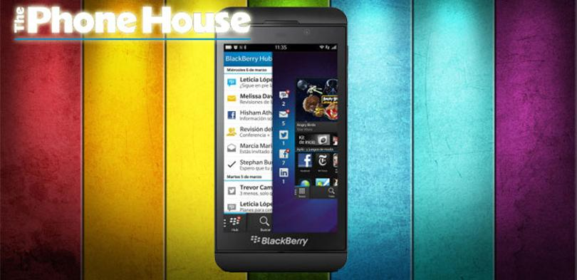 BlackBerry Z10 con The Phone House