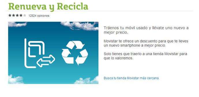 web de movistar renueva y recicla