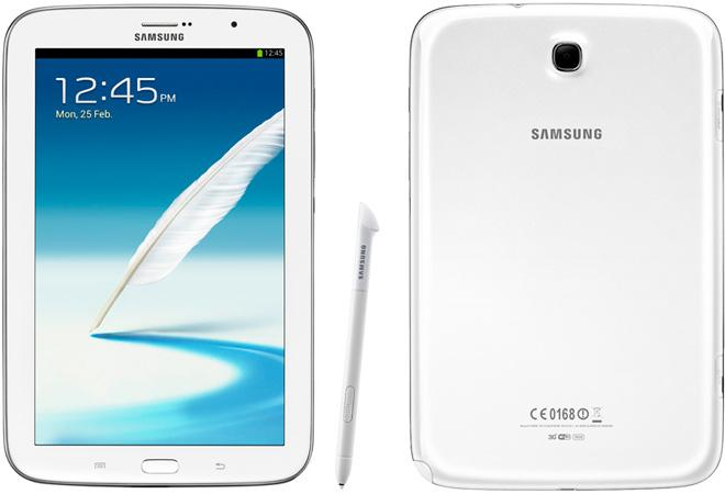 Samsung Galaxy Note 8 blanco