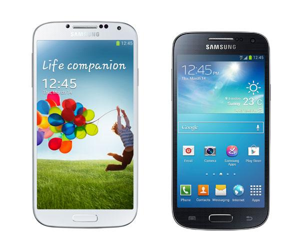 Samsung Galaxy S4 Mini compa Samsung Galaxy S4 Mini VS Galaxy S4: comparativa de características