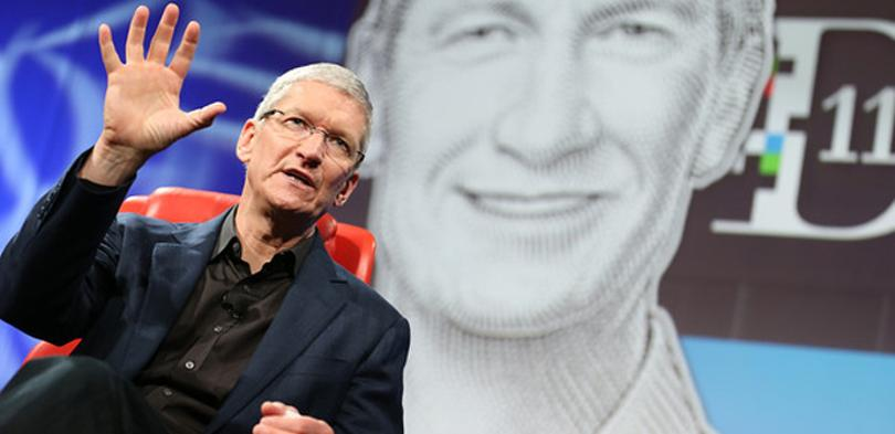 Tim Cook habló en las conferencias D11.