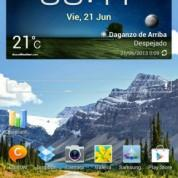 Escritorio del Samsung Galaxy Note 8.0