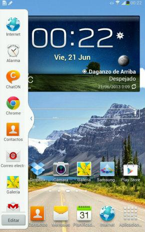 Multiview del Samsung Galaxy Note 8.0