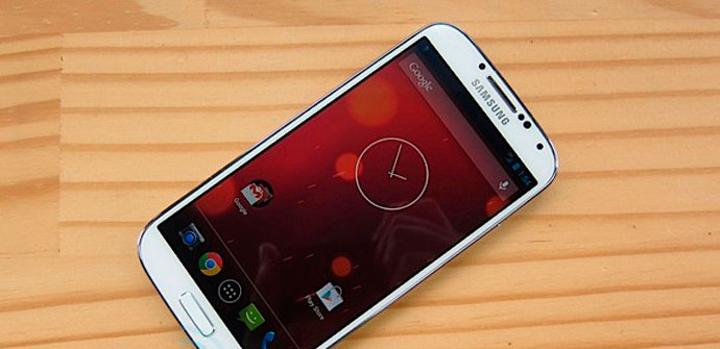Samsung Galaxy S4 con Android 4.3 en vídeo