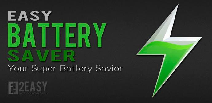 Aplicaciòn Easy Battery Saver