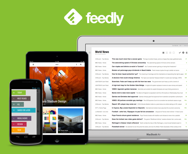 feedly ios android
