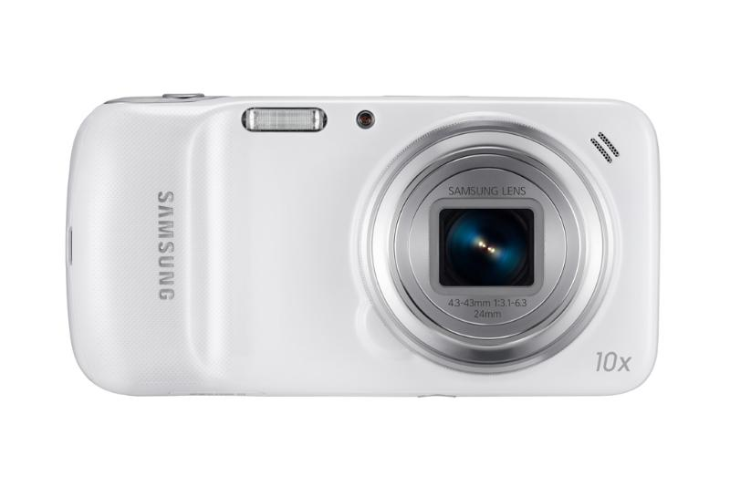 Samsung Galaxy S4 Zoom vista frontal