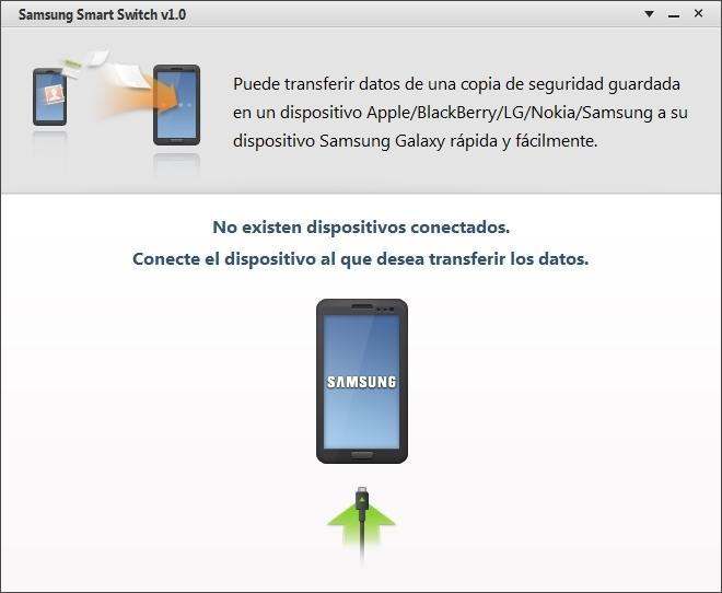 Inicio de Smart Switch en PC