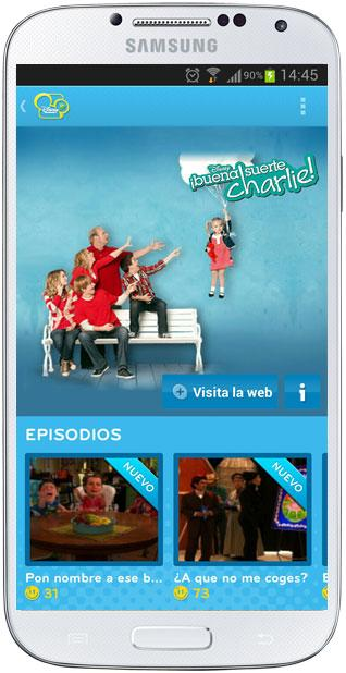 Opciones en Disney Channel Replay