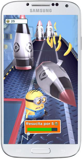 Choque en Gru. Mi villano favorito: Minion Rush