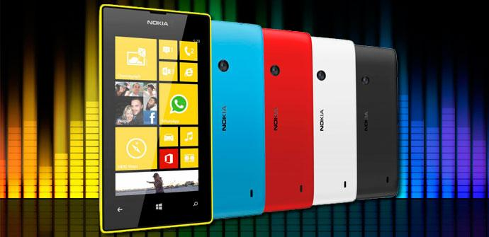 Colores disponibles con el Nokia Lumia 520