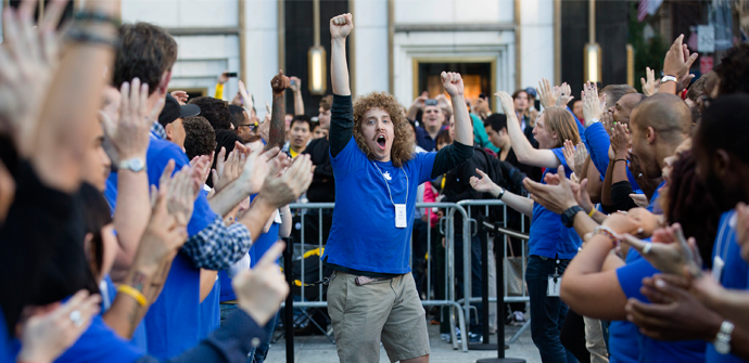 apple store staff