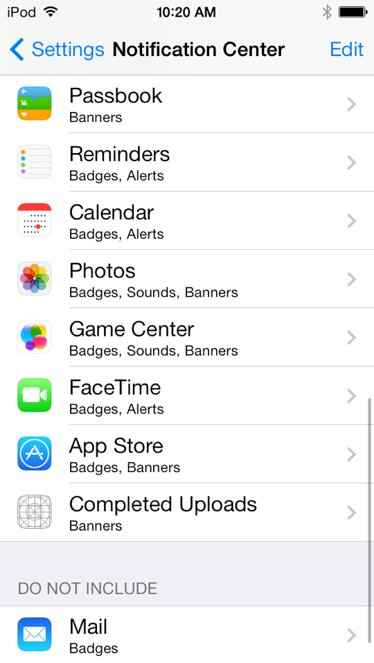 ios 7 beta 4 cambios 3