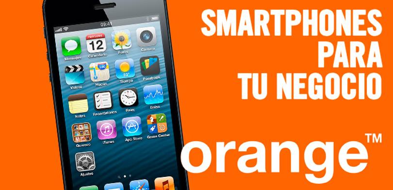 IPhone 5 para negocios con Orange.