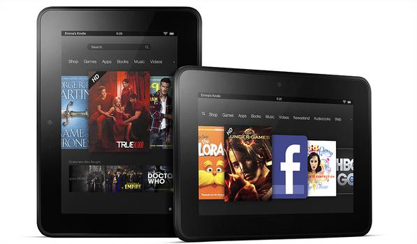 Kindle Fire HD 7 pulgadas.