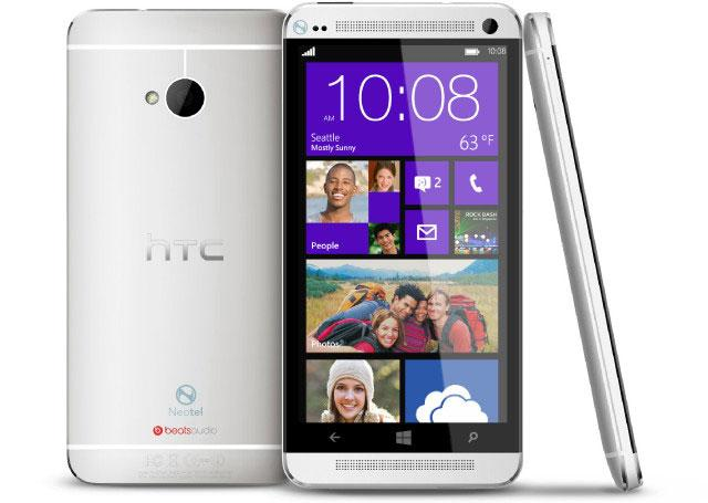 HTC One con Windows Phone 8