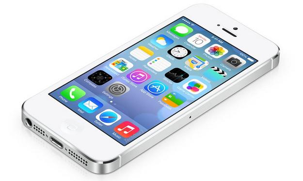 iPhone 5S iOS 7.