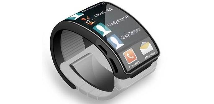 Posible diseño Samsung Gear Smartwatch.