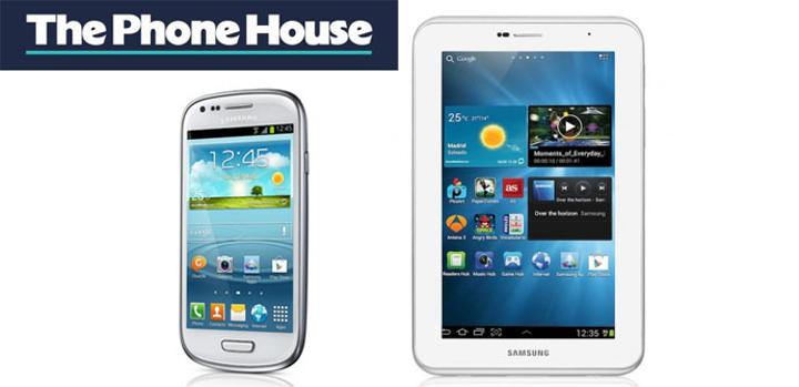 Samsung Galaxy S3 mini y Galaxy Tab 2 3G de oferta en The Phone House.