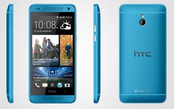 HTC One Mini en azul