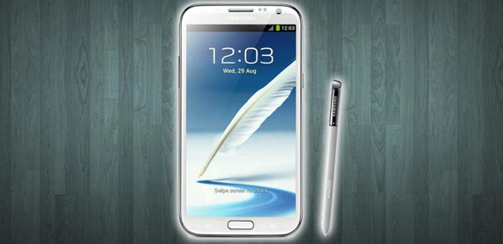Samsung Galaxy Note 2.