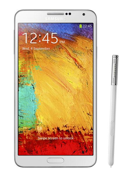 Samsung Galaxy Note 3.