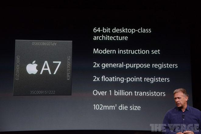 Procesador Apple A7 de 64 bits