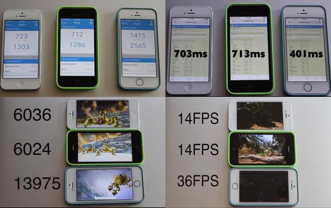 iphone 5s 5s 5 tests