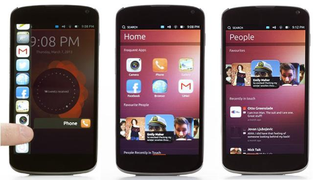 Captura de Ubuntu Touch OS