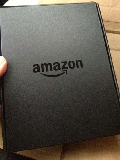 Caja de Amazon Kindle