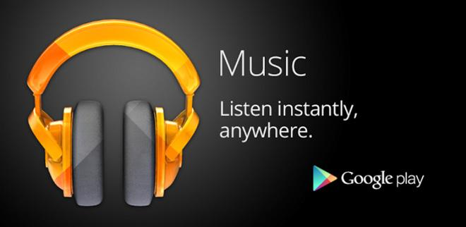 Servicio de musica en streaming de Google