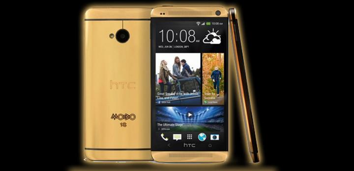 5 HTC One Gold para el Festival MOBO.
