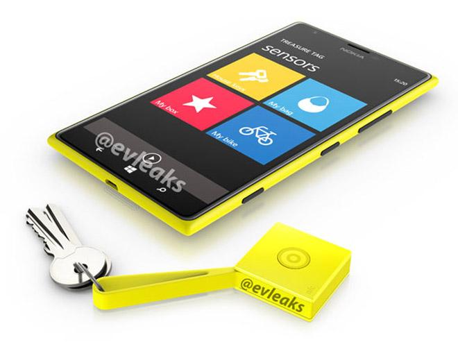 Nokia Lumia 1520 y Treasure Tag