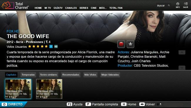 Serie disponible en TotalChannel
