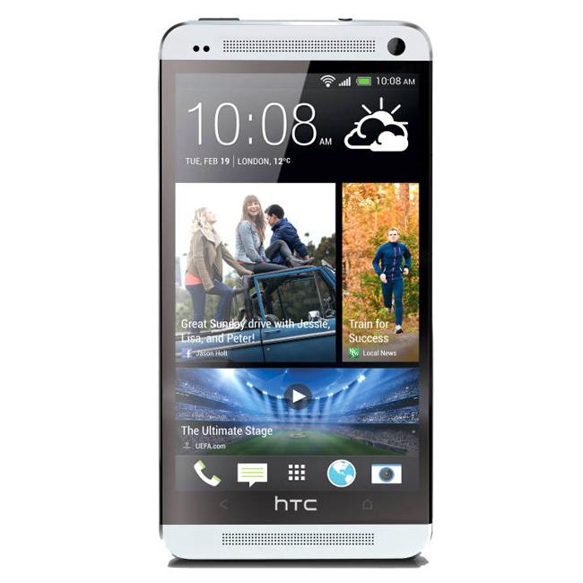 HTC One frontal.