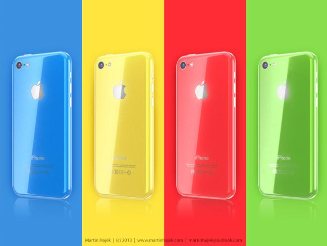 Carcasa de colores del iPhone 5C